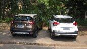 Renault Captur (Renault Kaptur) vs Nissan Kicks rear