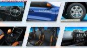 Renault Kwid Climber features brochure scan leak