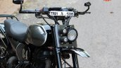 Royal Enfield Classic 500 RE535 tourer scrambler by TNT Motorcycles front fender
