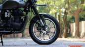 Royal Enfield Classic 500 RE535 tourer scrambler by TNT Motorcycles front wheel