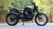 Royal Enfield Classic 500 RE535 tourer scrambler by TNT Motorcycles side right