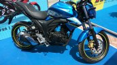 Suzuki Gixxer at Gixxer Day in Mumbai side