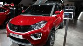 Tata Nexon Geneva Edition front three quarter at the 2017 Geneva Motor Show
