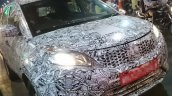 Tata Nexon base variant headlamp and bumper spotted testing