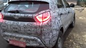 Tata Nexon rear three quarters spy shot