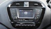 Tata Tigor center console First Drive Review