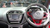 Tata Tigor interior at the 2017 Geneva Motor Show