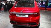 Tata Tigor rear at the 2017 Geneva Motor Show