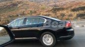 VW Passat black spy shot India