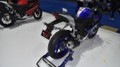 Yamaha R15 v3.0 at BIMS 2017 rear three quarter