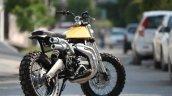 Yamaha RD350 Scrambler by Moto Exotica rear three quarter