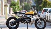 Yamaha RD350 Scrambler by Moto Exotica side