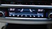2017 BMW 7 Series M-Sport (730 Ld) HVAC display Review