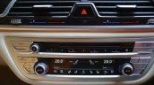 2017 BMW 7 Series M-Sport (730 Ld) center console Review