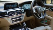 2017 BMW 7 Series M-Sport (730 Ld) driver area Review
