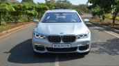 2017 BMW 7 Series M-Sport (730 Ld) front high Review