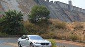 2017 BMW 7 Series M-Sport (730 Ld) front quarter dam Review