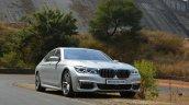 2017 BMW 7 Series M-Sport (730 Ld) front quarter low Review