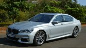 2017 BMW 7 Series M-Sport (730 Ld) front three quarter Review
