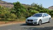 2017 BMW 7 Series M-Sport (730 Ld) front three quarter far Review