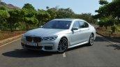 2017 BMW 7 Series M-Sport (730 Ld) front three quarter left Review