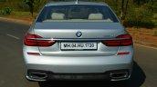 2017 BMW 7 Series M-Sport (730 Ld) rear Review