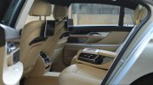 2017 BMW 7 Series M-Sport (730 Ld) rear cabin Review