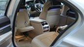 2017 BMW 7 Series M-Sport (730 Ld) rear seat Review