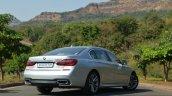 2017 BMW 7 Series M-Sport (730 Ld) rear three quarter Review