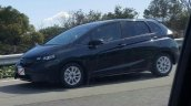 2017 Honda Jazz front three quarter spied in Japan