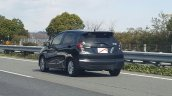 2017 Honda Jazz rear quarter spied in Japan