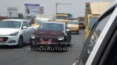 2017 Hyundai Verna (3rd gen) front spied up close