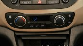 2017 Hyundai Xcent India launch AC control