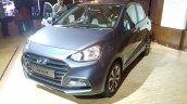 2017 Hyundai Xcent India launch front three quarter