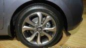 2017 Hyundai Xcent India launch rear alloy wheel