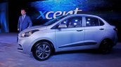 2017 Hyundai Xcent India launch side profile