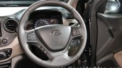 2017 Hyundai Xcent India launch steering wheel