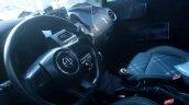 2017 MG3 (facelift) interior spy shot