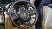 2017 Maruti Dzire (3rd gen) steering wheel unveiled