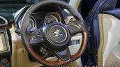 2017 Maruti Dzire (3rd gen) steering wheel unveiled