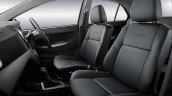 2017 Perodua Bezza seats updated