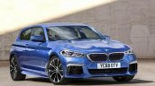 2018 BMW 1 Series front three quarters rendering
