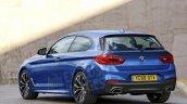 2018 BMW 1 Series rear three quarters rendering