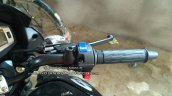 All new Hero Glamour spied in India handlebar