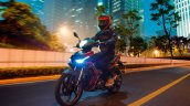 Benelli RFS150i motion front three quarter Malaysia launch