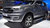 Ford Everest (Ford Endeavour) front three quarters at 2017 Bangkok International Motor Show