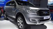 Ford Everest (Ford Endeavour) front three quarters right side at 2017 Bangkok International Motor Show