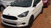 Ford Figo S front quarter spied at a dealership