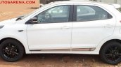 Ford Figo S side spied at a dealership