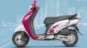 Honda Activa i BSIV studio magenta